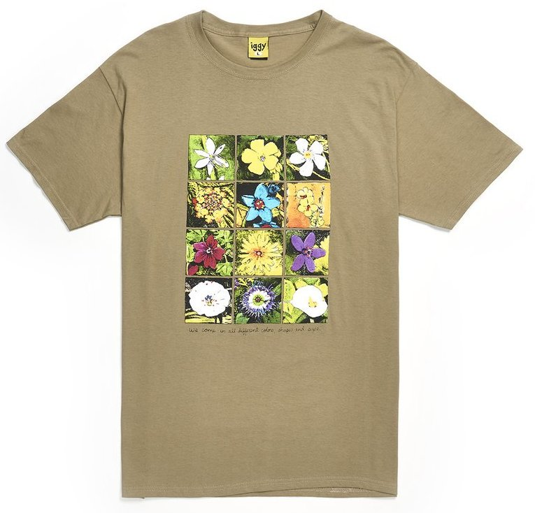 IGGY<br>Shapes And Sizes T Shirt<br>
