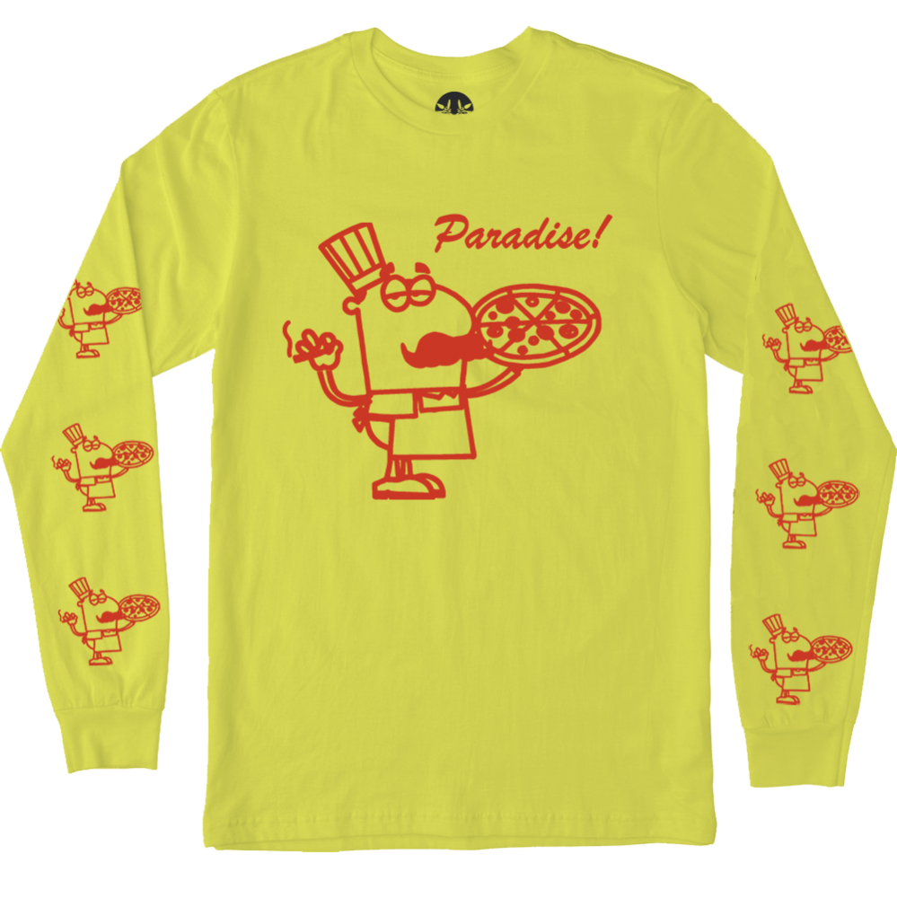 PARADIS3<br>99 CENT PIZZA L/S TEE<br>