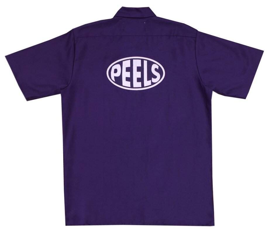 Peels<br>Oval Work Shirt Custom by APPLE BUTTER<br>