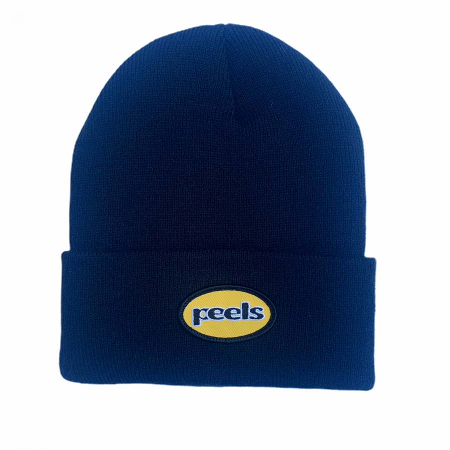 Peels<br>Yellow Patch Beanie<br>