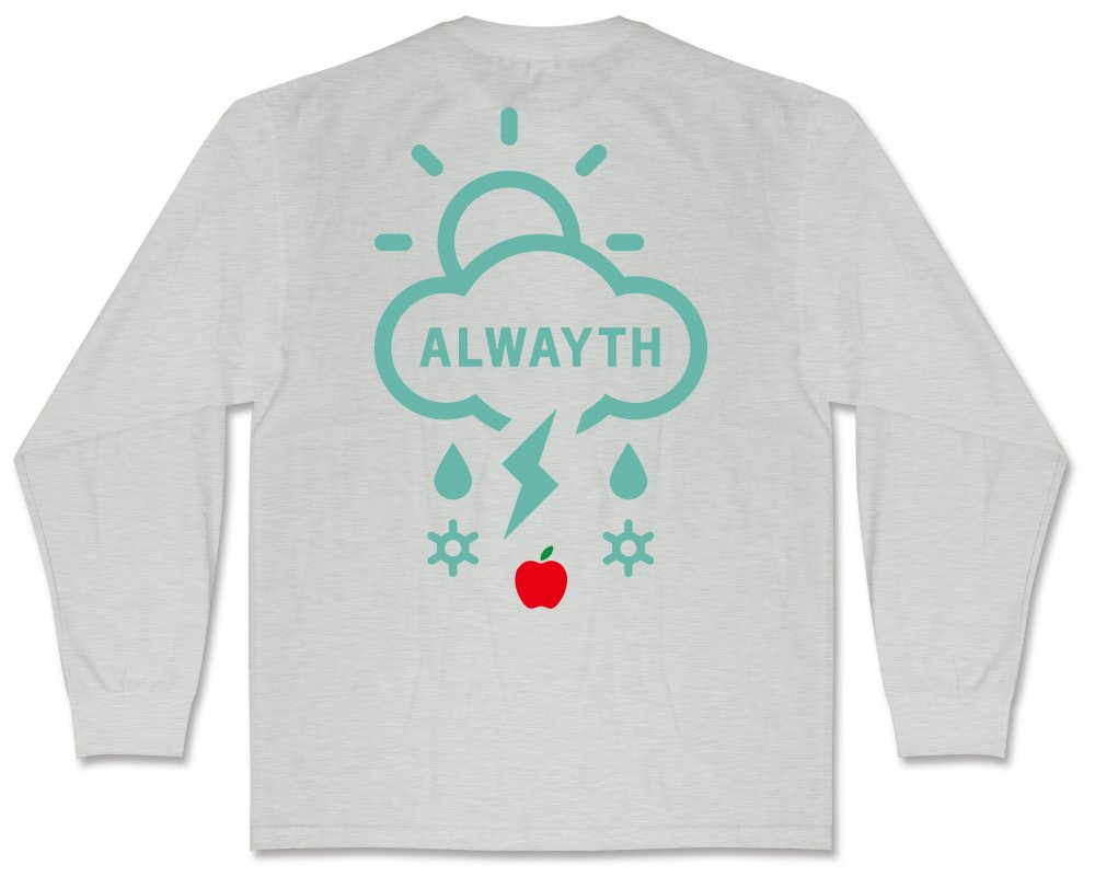 ALWAYTH×APPLE BUTTER STORE<br>Newton L/S TEE<br>