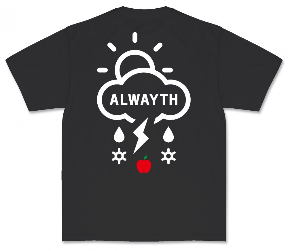 ALWAYTH×APPLE BUTTER STORE<br>Newton S/S TEE<br>