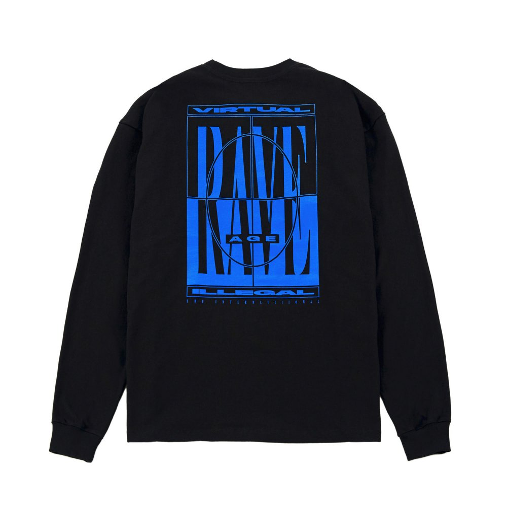 THE INTERNATiiiONAL<br>Virtual Rave Age L/S<br>