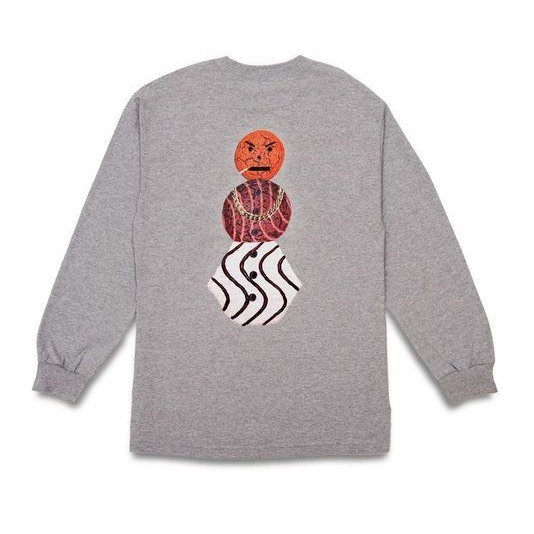 QUARTER SNACKS<br>CLASSIC SNACKMAN L/S TEE<br>