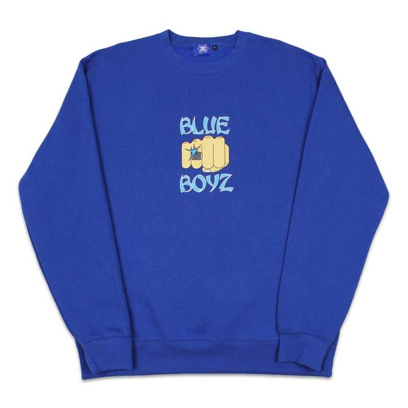 Blue Boyz Sports Club<br>BB Fist Crewneck<br>
