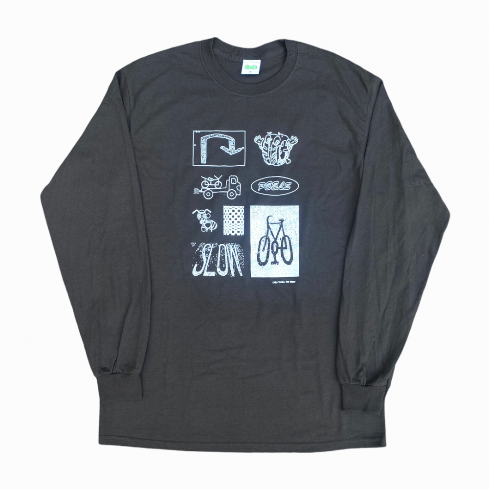 Peels<br>Sign L/S Tee<br>