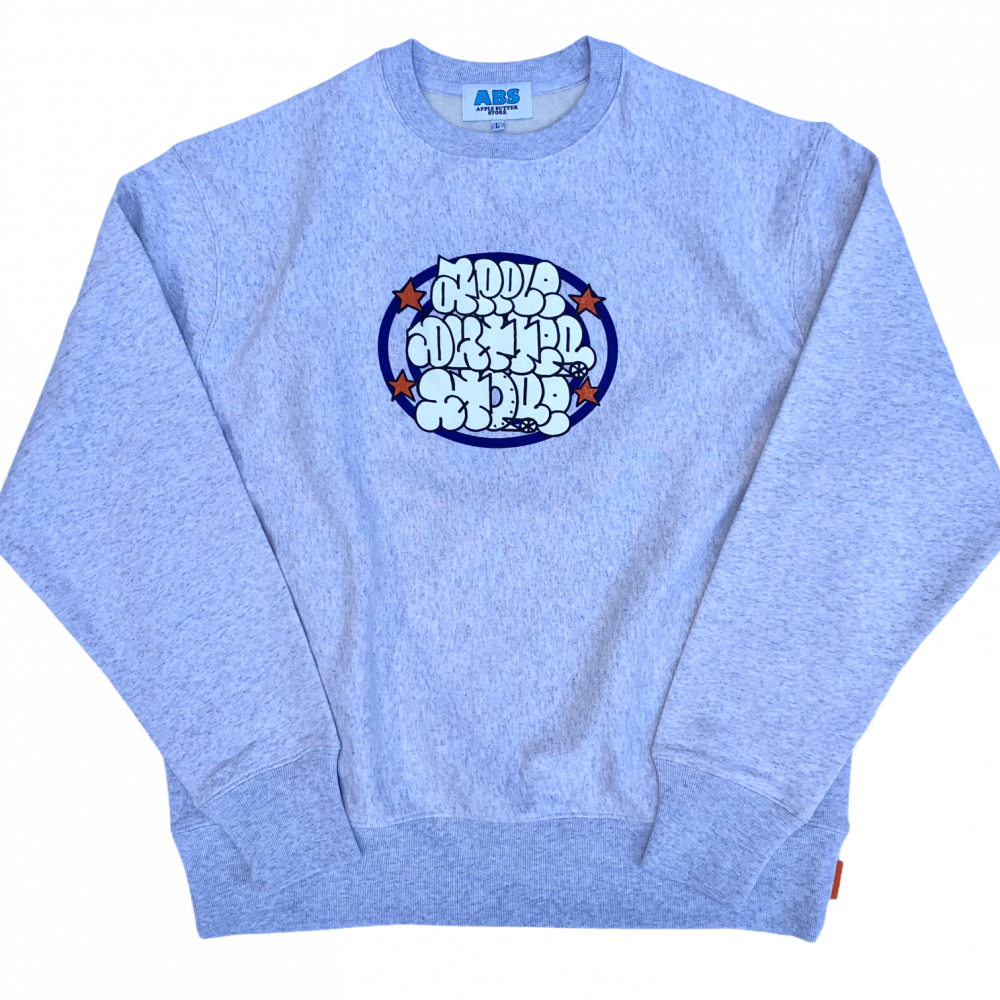 APPLE BUTTER STORE<br>THROW UP CREWNECK<br>