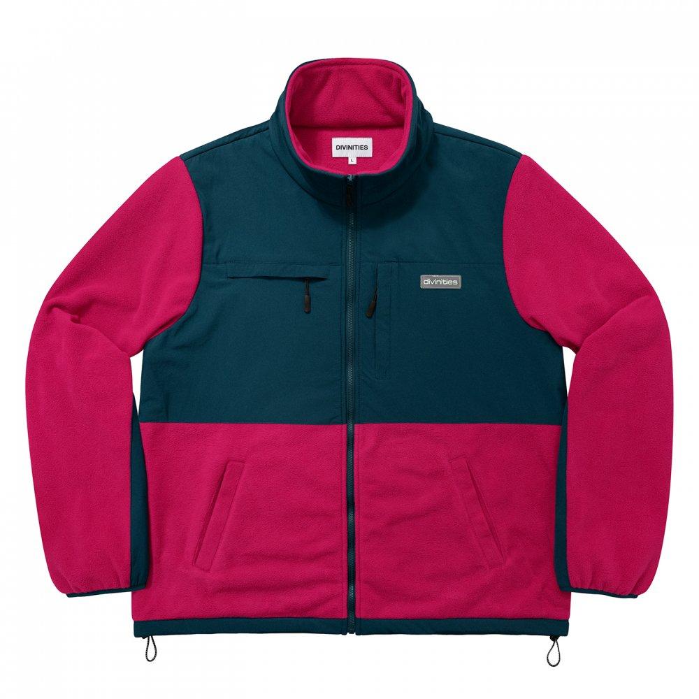 Divinities<br>2-Tone Polar Fleece Jacket<br>