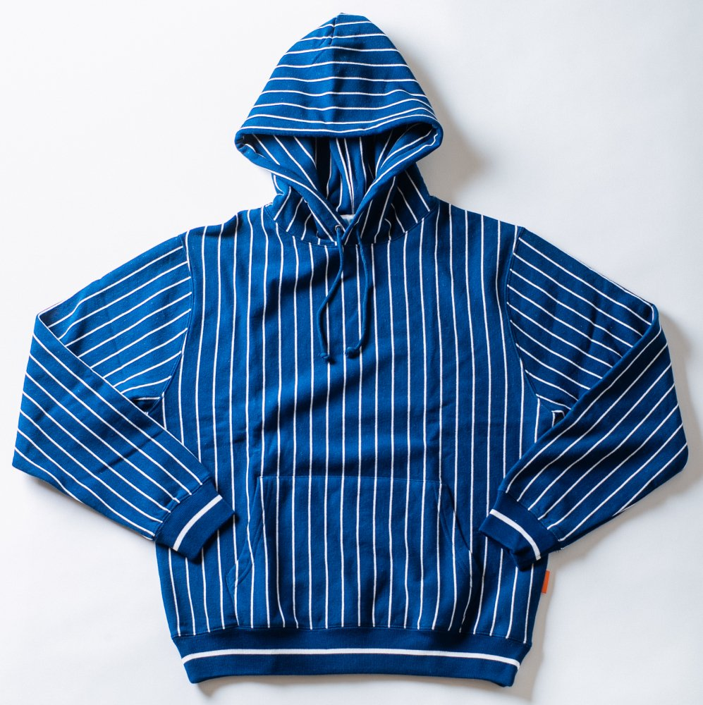 APPLE BUTTER STORE<br>ABS Reverse Weave Stripe Hoodie<br>