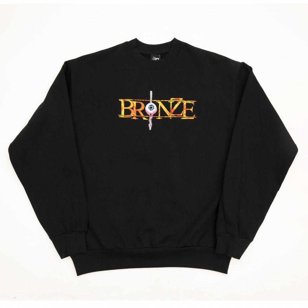 BRONZE56K<br>ALWAYS HARD EMBROIDERED CREW<br>