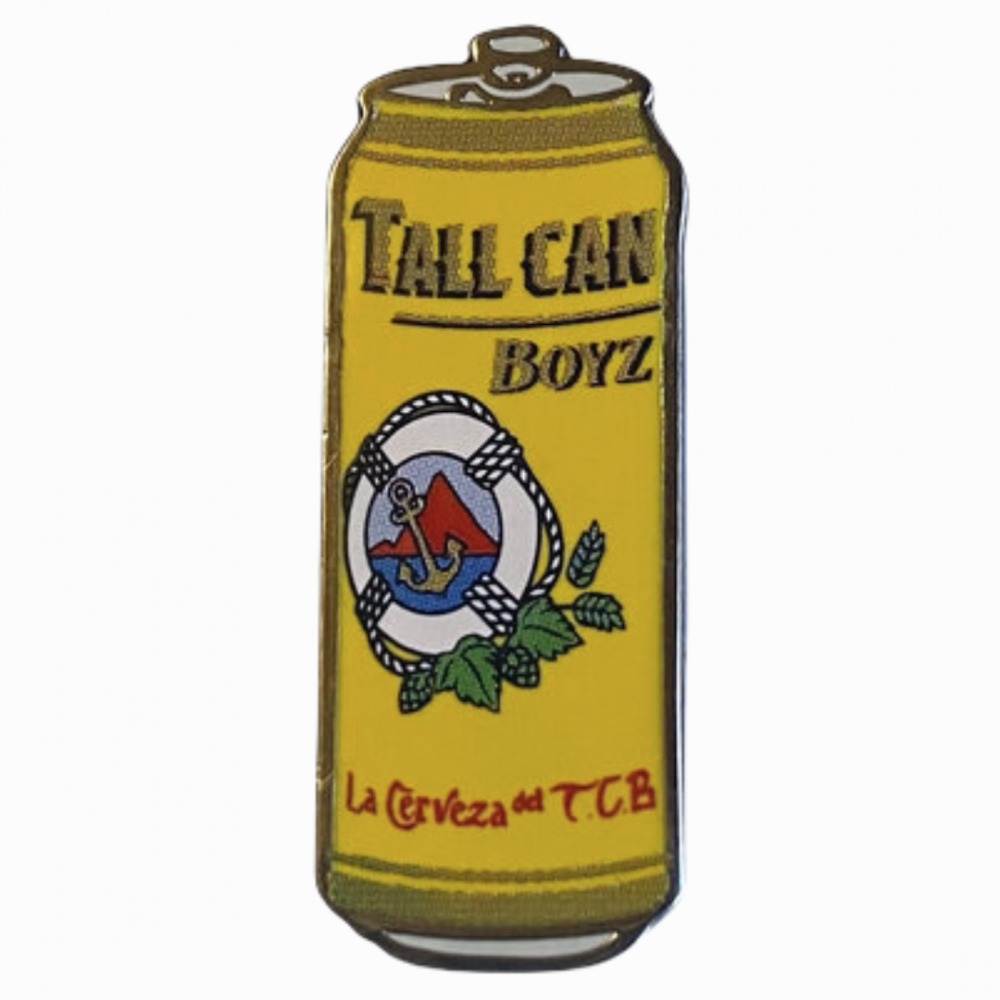 TALL CAN BOYZ<br>IMPORT PIN<br>