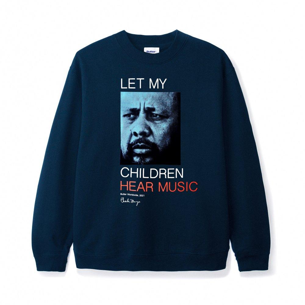 BUTTER GOODS<br>CHARLS MINGUS - LET MY CHILDLREN HEAR MUSIC CREWNECK<br>