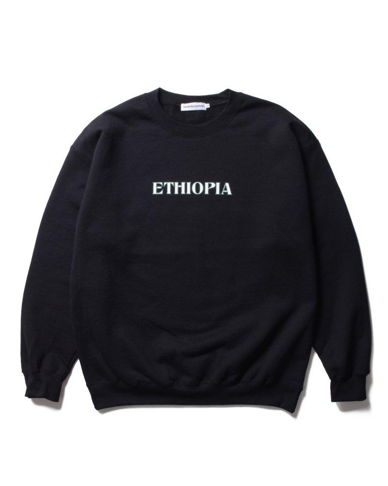cabaret poval<br>Ethiopia Crewneck Sweatshirt<br>