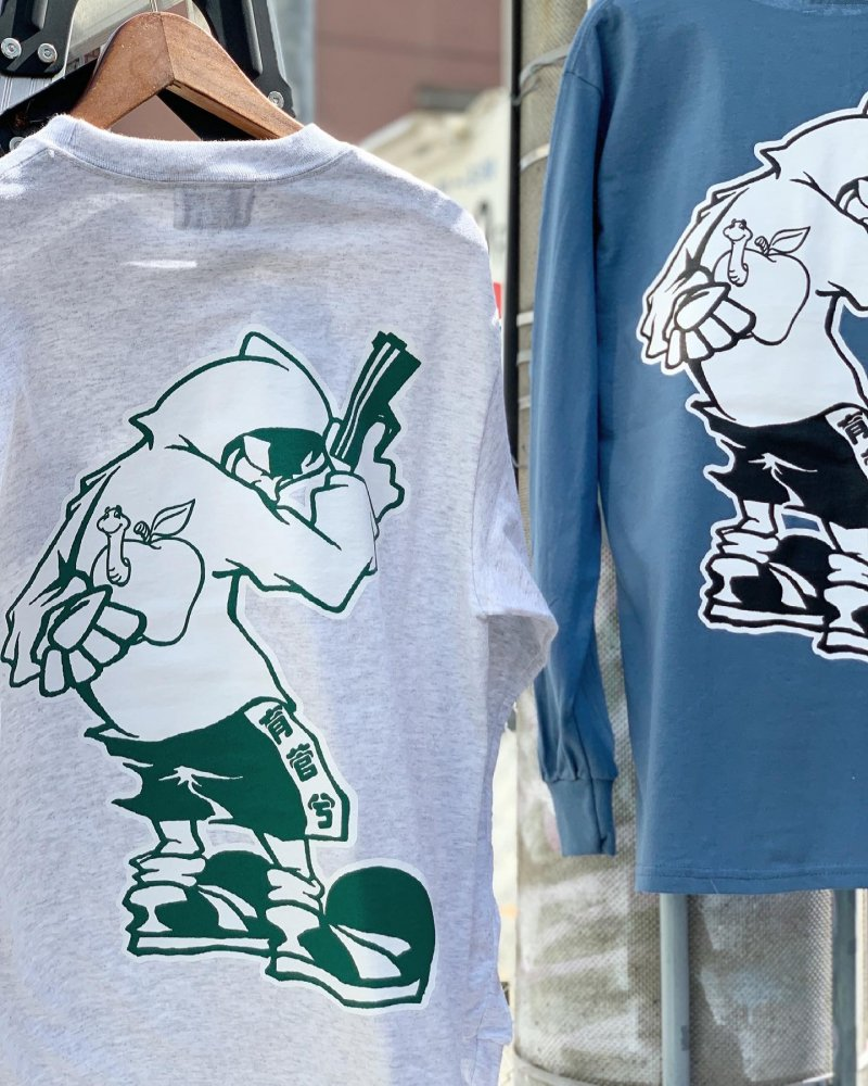 APPLE BUTTER STORE<br>ABS Gunman L/S TEE ASH<br>