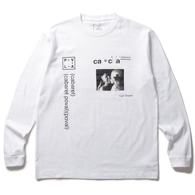 cabaret poval<br>Night Thoughts L/S Tee<br>