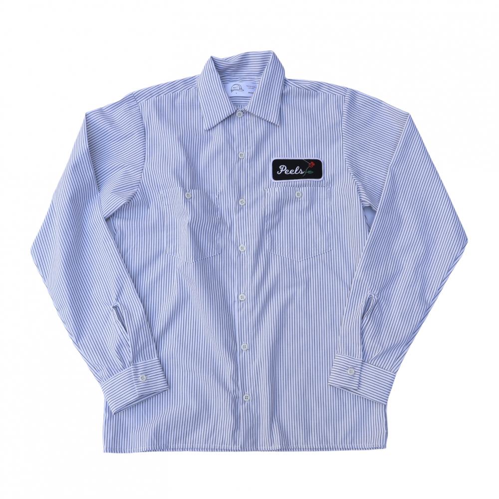 Peels<br>Striped Work Shirt<br>