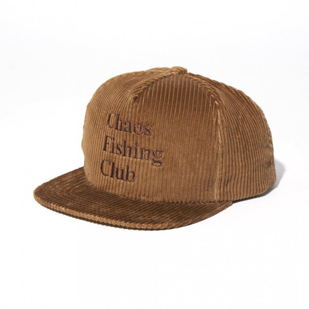 Chaos Fishing Club<br>LOGO CORDUROY CAP<br>