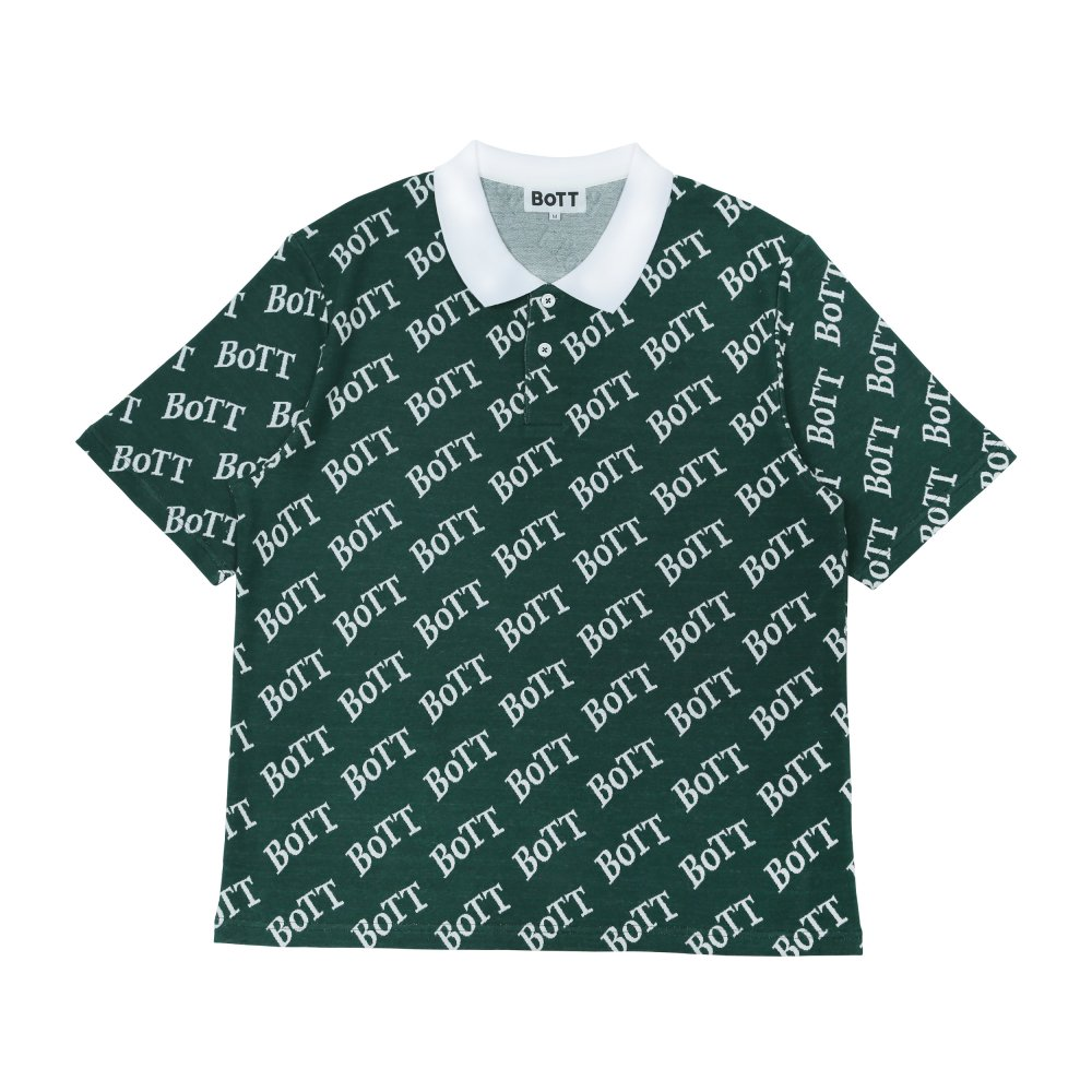 BoTT<br>Logo S/SL Polo Shirt<br>
