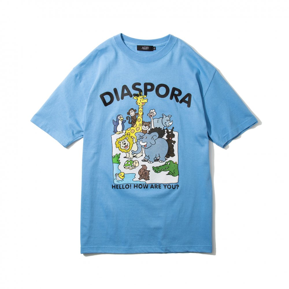 Diaspora skateboards<br>Greeting Tee<br>