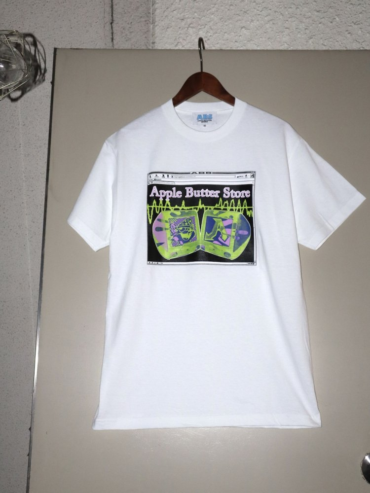 APPLE BUTTER STORE<br>ABS Computer Tee WHITE<br>