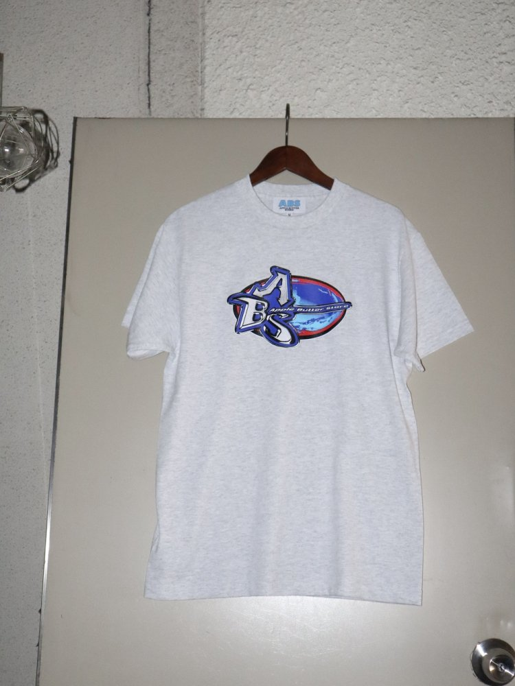 APPLE BUTTER STORE<br>ABS Oval Logo Tee ASH<br>