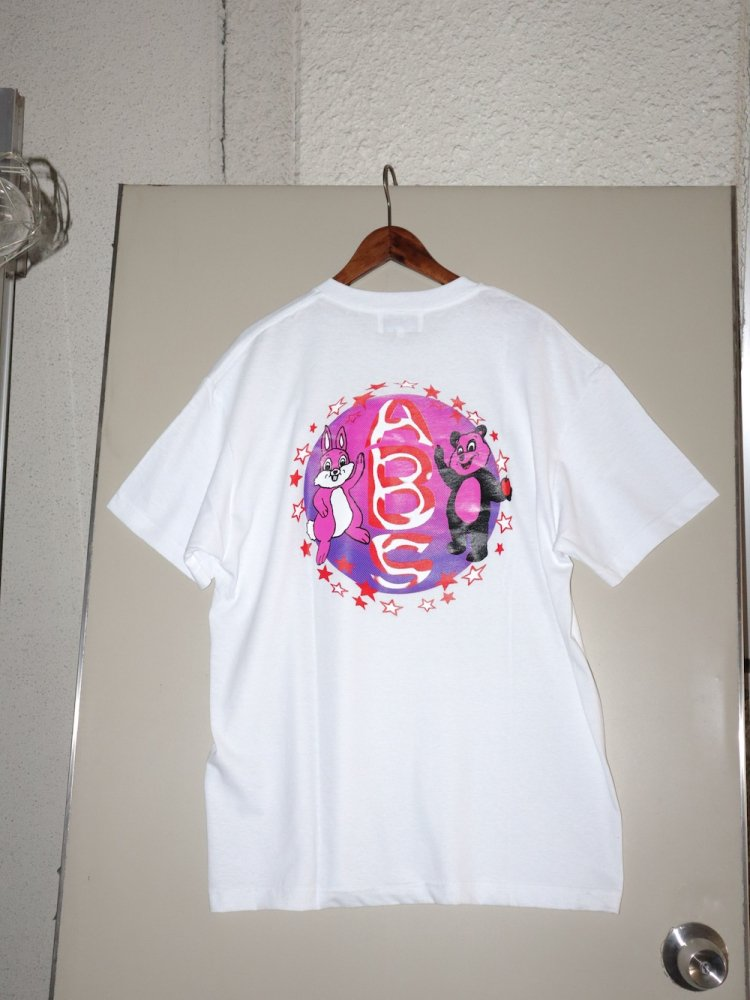 APPLE BUTTER STORE<br>Bootleg Pandex & Bunny Tee WHITE<br>