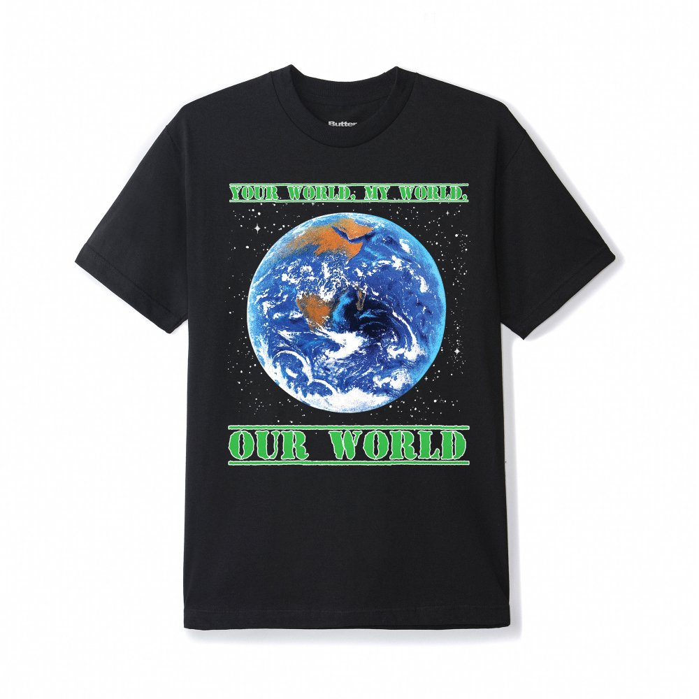 BUTTER GOODS<br>OUR WORLD TEE<br>