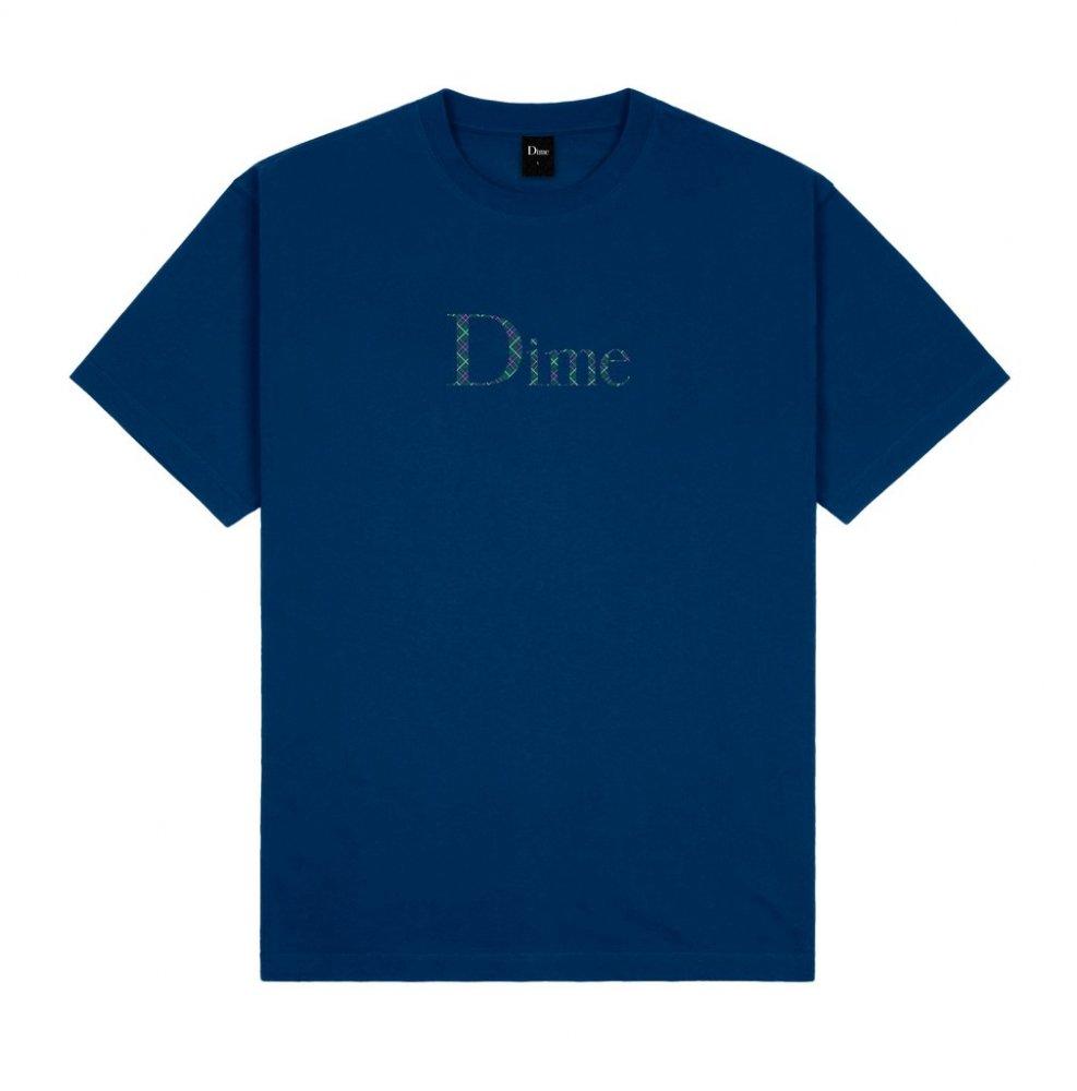 DIME<br>DIME CLASSIC PLAID T-SHIRT<br>