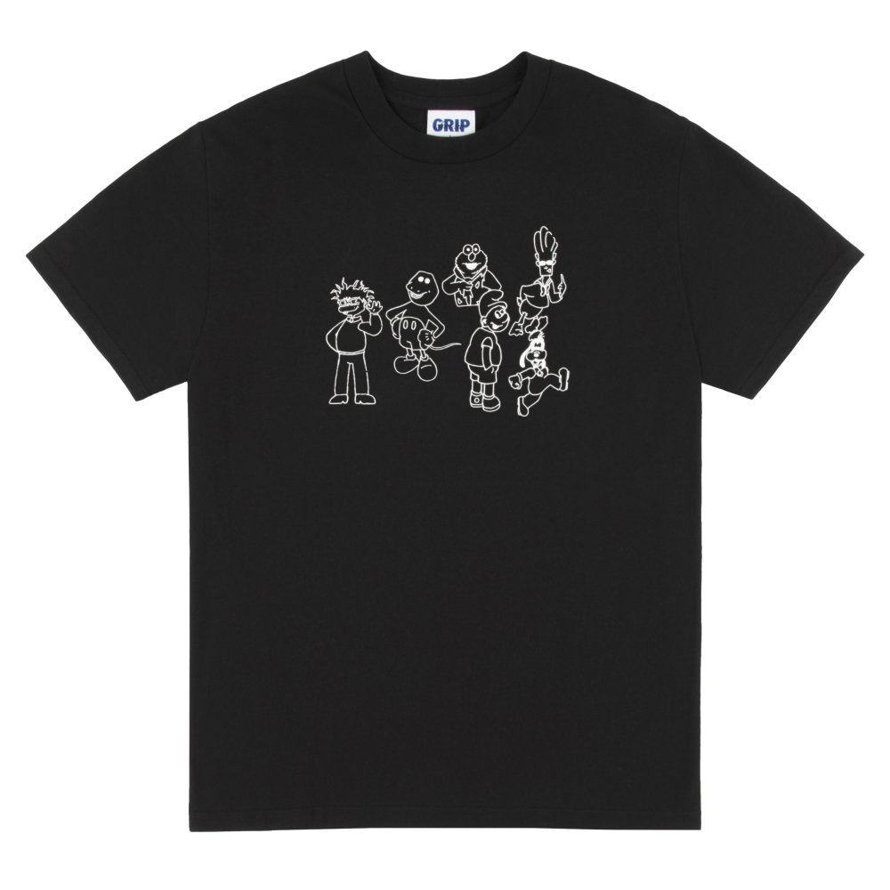 CLASSIC GRIP TAPE<br>CONFUSED CARTOONS T-SHIRT<br>