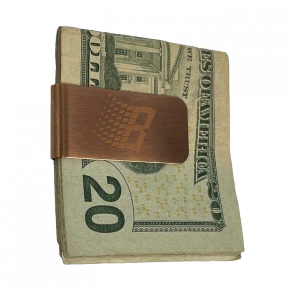 BRONZE56K<br>MONEY CLIP COPPER<br>