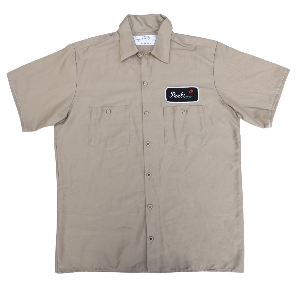 Peels<br>Rose Patch Work Shirt<br>