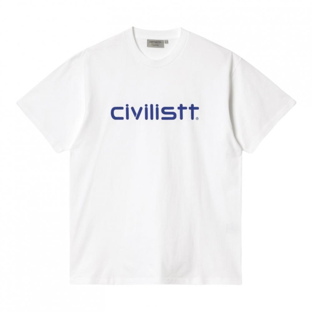 Carhartt WIP x Civilist<br>Civilist Script T-Shirt<br>
