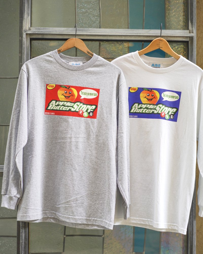 APPLE BUTTER STORE<br>ABS FLAVOR L/S TEE<br>