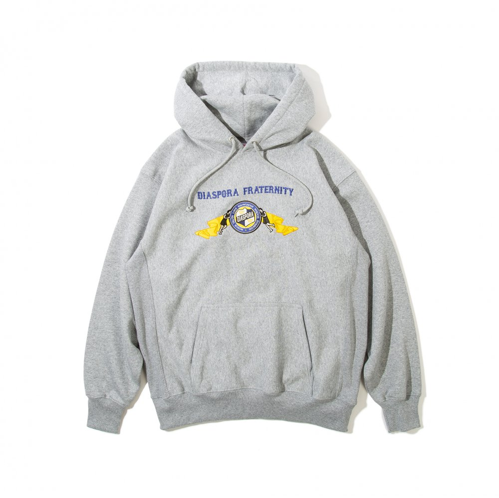 Diaspora skateboards<br>6 Elements Embroidered Hooded Sweatshirt <br>