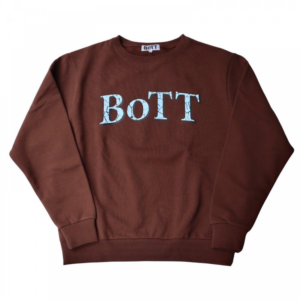 BoTT×APPLE BUTTER STORE<br>BoTT Crack OG Logo Crew Neck<br>