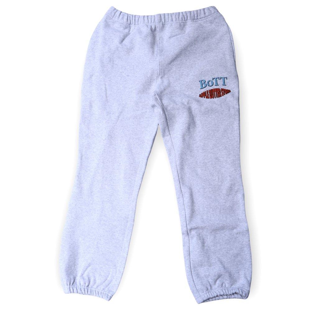 BoTT×APPLE BUTTER STORE<br>BoTT Crack OG Logo Sweat Pants<br>