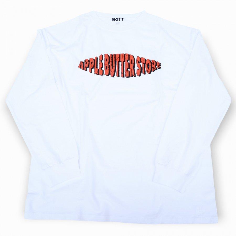BoTT×APPLE BUTTER STORE<br>BoTT Crack OG Logo L/S Tee<br>