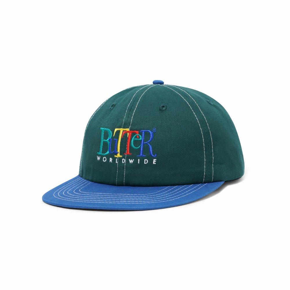 BUTTER GOODS<br>JUMBLE 6 PANEL CAP<br>