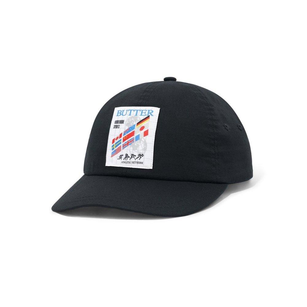 BUTTER GOODS<br>TRACK 6 PANEL CAP<br>
