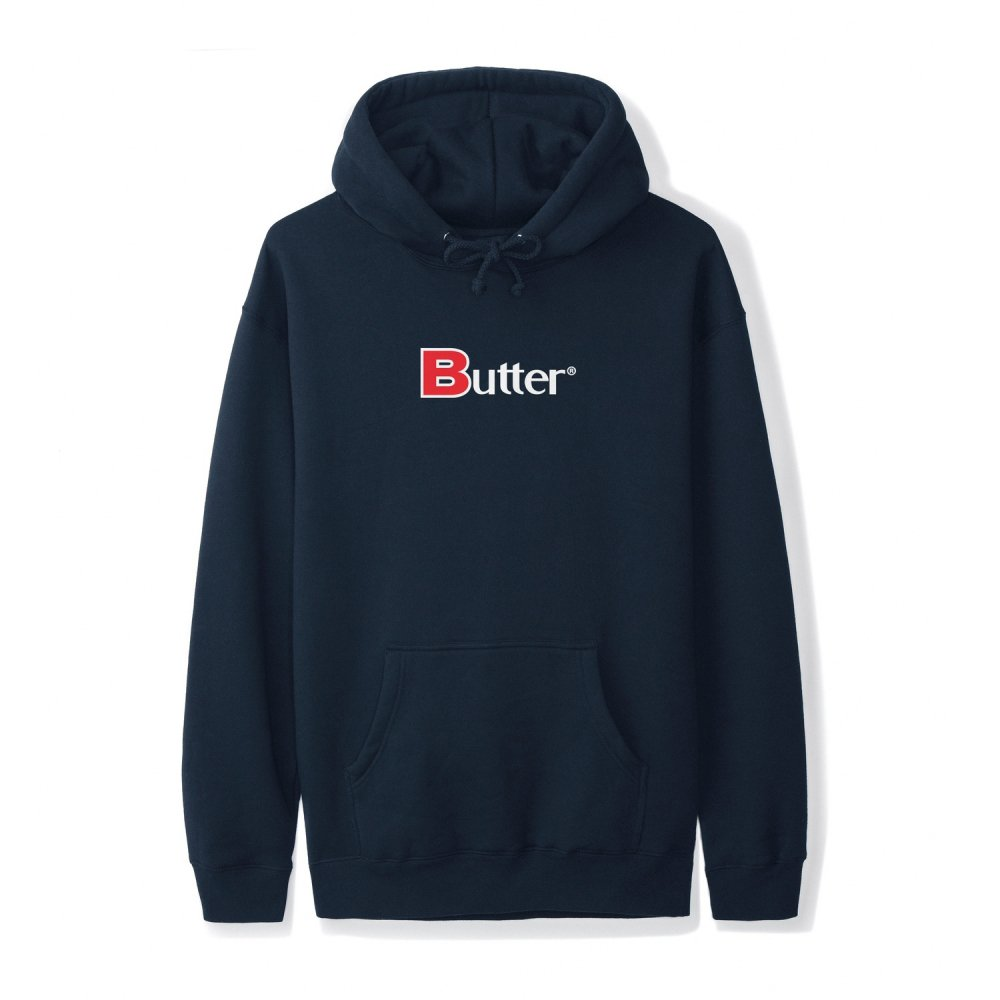 BUTTER GOODS<br>CLASSIC BOLD PULLOVER HOOD<br>