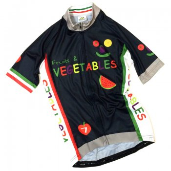 7ITA Vegetables Lady Jersey  Navy