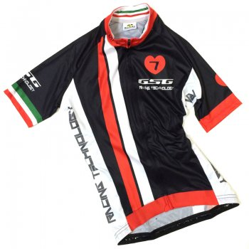 7ITA  GT-7R Lady Jersey Black/Red