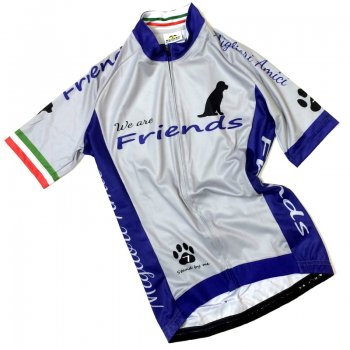 7ITA  Friends Dog Lady Jersey Grey/Navy