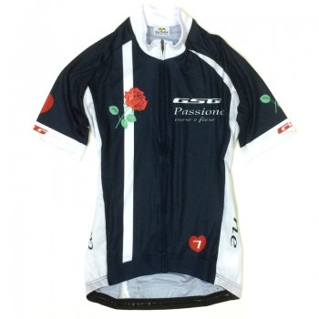 GSG Passione Cuore e Fiore Lady Jersey  Navy/Red