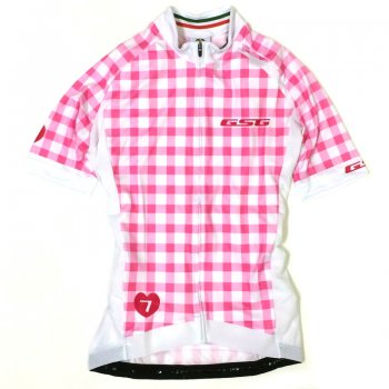 GSG Quadretti Lady Jersey Red