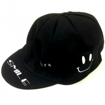 7ITA Happiness Smile Cap Black