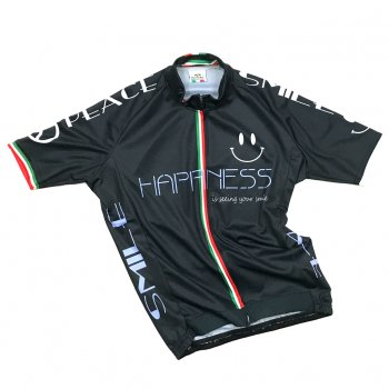 7ITA Happiness Smile Jersey All Black