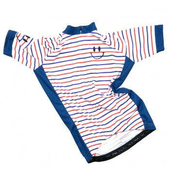 7ITA Marine Smile Kid Jersey Tricolore