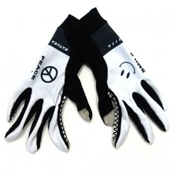 7ITA Smile Mid Gloves White
