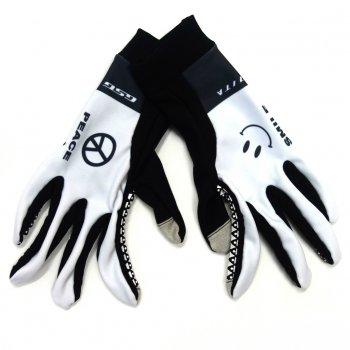 7ITA Smile Mid Gloves White